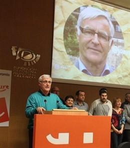 El alcalde de València y miembro de Compromís, Joan Ribó.