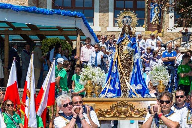 Celebración de la festividad de El Carmen en Revilla de Camargo