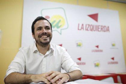"""Alberto Garzón agradece el trabajo de Henar Moreno y considera que el cambio en el Gobierno de La Rioja """"se conseguirá"""""""