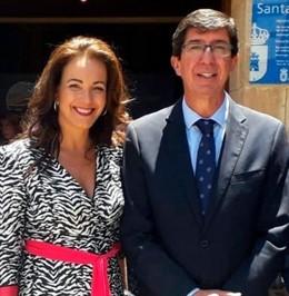La delegada de Turismo en Huelva, Mari Ángeles Muriel.