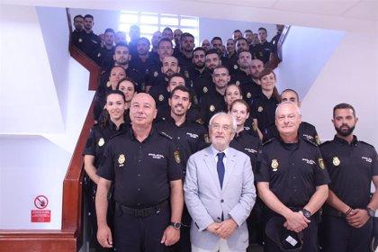 La Policía de Almería suma 95 nuevos agentes entre alumnos en prácticas, incrementos y refuerzos por la OPE