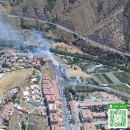 Incendio urbano registrado en Cenes de la Vega