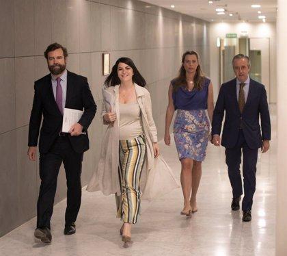 Vox plantea que los diputados no cobren hasta septiembre los complementos por comisiones del Congreso