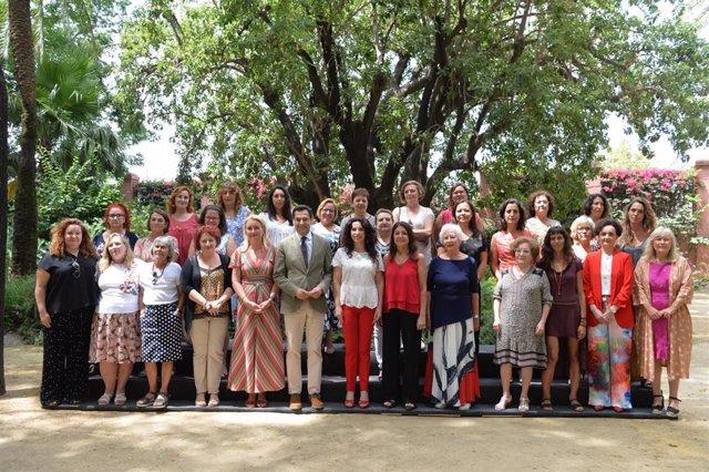 [Grupohuelva] Nota De Prensa. Juanma Moreno Subraya El Compromiso De Su Gobierno Con La Igualdad Y Apela A La Implicación De Todos Para Conseguirlo
