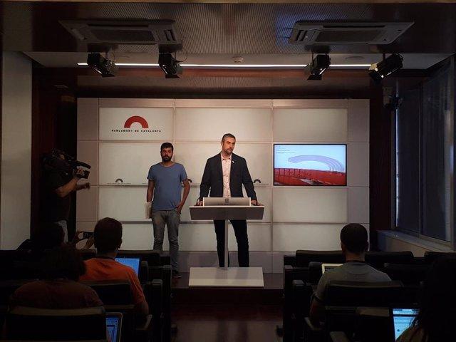 Rubén Wagensberg y Bernat Solé (ERC)