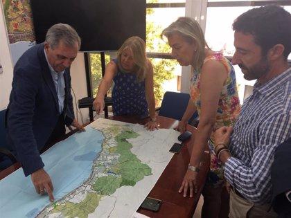 La Junta defiende que el Plan de Ordenación de la Costa del Sol contemple el tren litoral