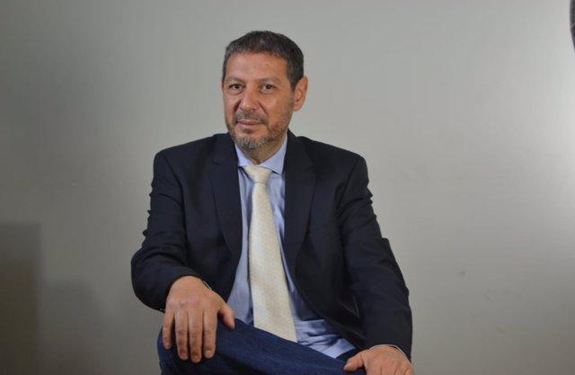El presidente de Coalición por Melilla (CPM), Mustafa Aberchán