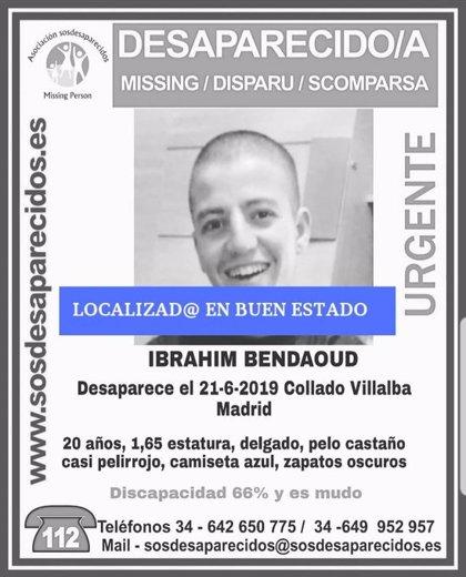Localizan en buen estado al joven de 20 años mudo de Villalba que estaba desaparecido