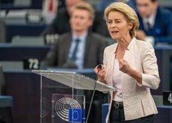 Von der Leyen ofereix més ambició en clima, paritat i estat de dret per guanyar el suport de l'Eurocambra (Michael Kappeler/dpa)