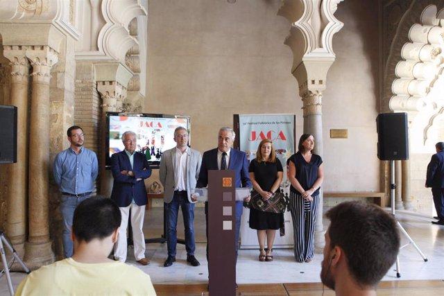 Presentación de la 50 edición del Festival Folklórico de los Pirineos de Jaca.