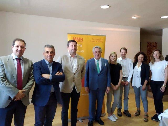 El MMH y Extenda muetran el sector minero andaluz a periodistas británicos especializados.