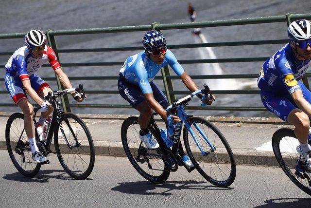 Nairo Quintana en el Tour