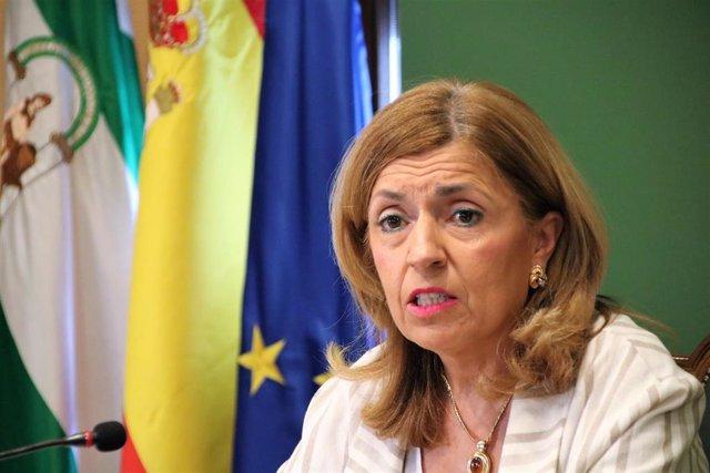 La delegada de Salud y Familias de la Junta en Córdoba, María Jesús Botella, en una imagen de archivo.