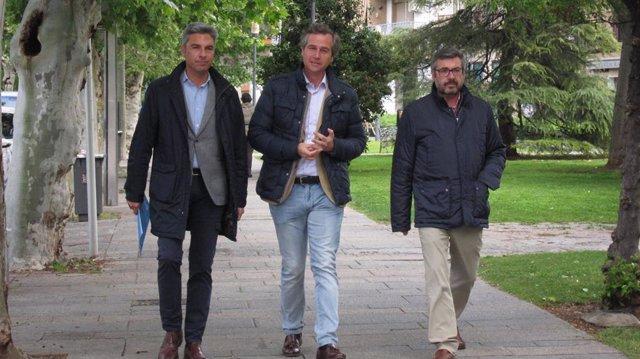 Antonio González Terol, Andrés Lorite y Miguel Ángel Torrico