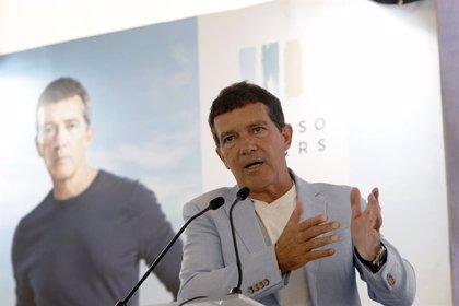 """Antonio Banderas: """"Debemos pensar en la Málaga del lujo, es una industria que puede aportar mucho"""""""