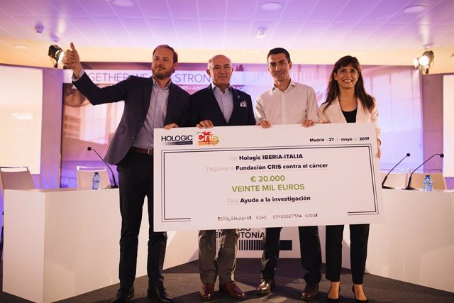 Hologic Iberia & Italia dona 20.000 euros a la Fundación CRIS Contra el Cáncer