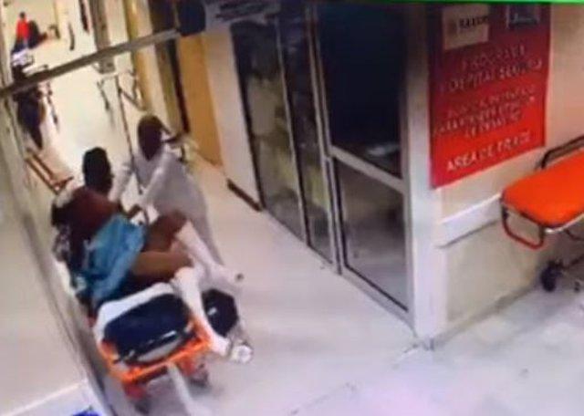 Paciente en Chiapas agreda a dos enfermeros