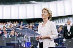 Von der Leyen aconsegueix l'aval de l'Eurocambra i serà la primera dona que presideix la Comissió Europea (PARLAMENTO EUROPEO)
