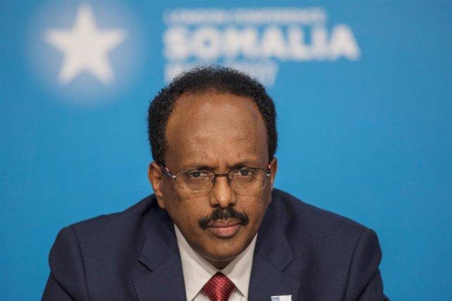 Mohamed Abdullahi Mohamed, presidente de Somalia