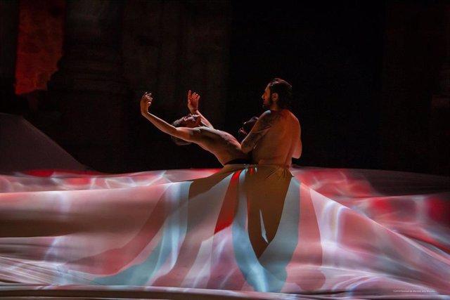 EStreno del espectáculo 'Dionisio' en el Festival de Mérida