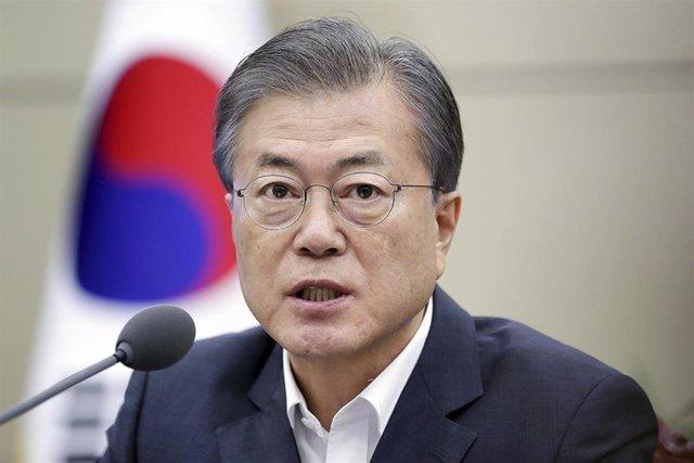 Moon Jae In, presidente de Corea del Sur