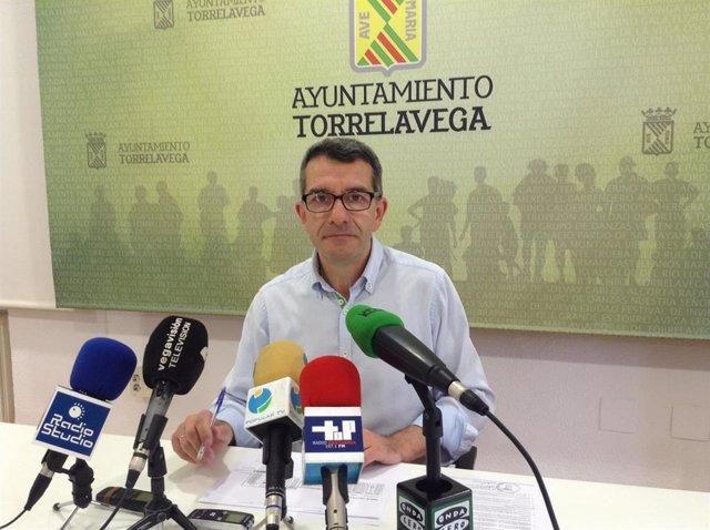 El concejal Pedro Pérez Noriega