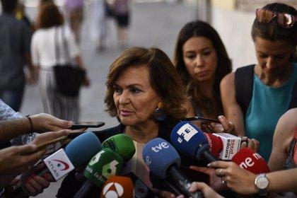 Calvo no descarta que Sánchez sea investido con los votos de independentistas, PNV, Compromís y PRC