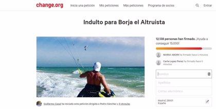 La Fiscalía de Málaga se muestra favorable a suspender la pena de dos años de prisión impuesta al joven Borja