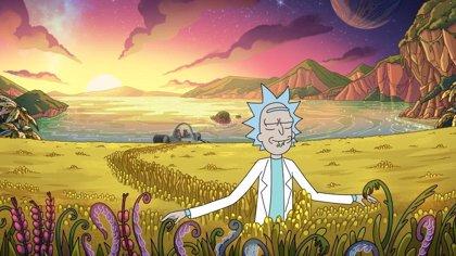 Rick es Gladiator en las primeras imágenes de la 4ª temporada de Rick y Morty