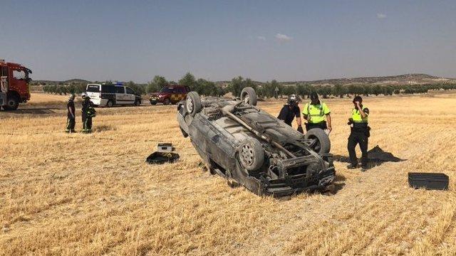 Accidente de tráfico en Villaconejos.