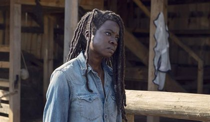 Primera imagen de Michonne en la 10 temporada de The Walking Dead