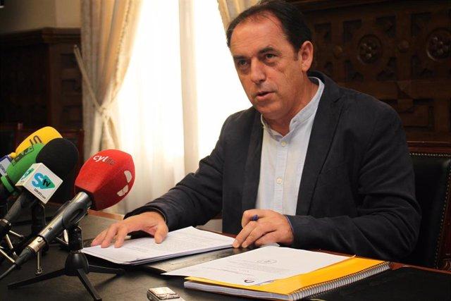 El presidente de la Diputación de Soria Benito Serrano.