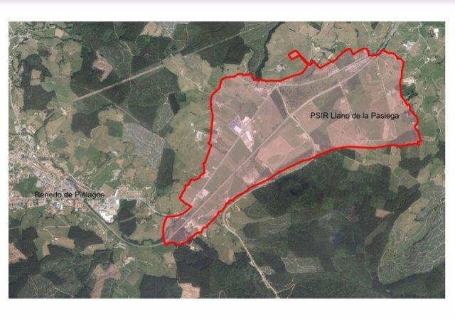 Area del PSIR de La Pasiega