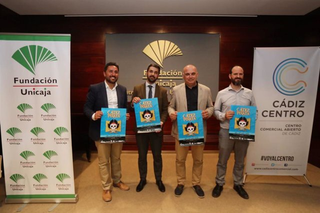 [Sevilla] Fundación Unicaja Patrocina Las Actividades Del Programa 'Cádiz Pirata 2019'