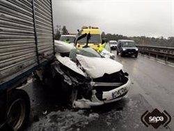 Cauen un 16% les víctimes mortals a les carreteres catalanes el 2019 (SEPA - Archivo)