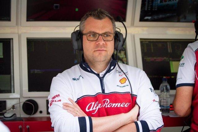 El ingeniero francés Jan Monchaux, de la escudería Alfa Romeo Racing.