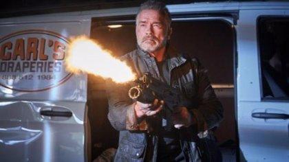 Arnold Schwarzenegger y Linda Hamilton abren fuego en nuevas imágenes de Terminator: Destino oscuro