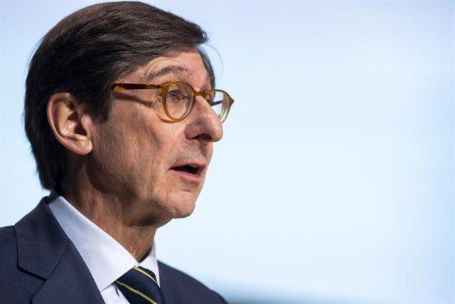 El presidente de Bankia, José Ignacio Goirigolzarri, en la junta de accionistas 2019