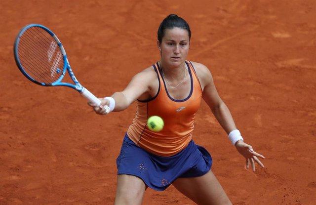 La tenista española Lara Arruabarrena.