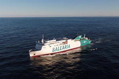 Balearia opera este verano con cuatro buques de gas natural licuado