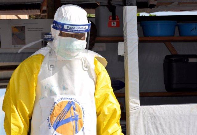 Protección frente al ébola en un centro de Beni