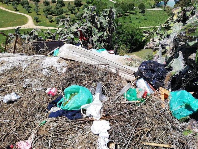 Vertedero denunciado por los ecologistas