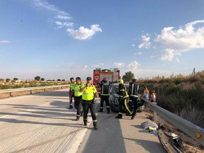 Un accidente múltiple a la altura de La Roda se salda con varios heridos