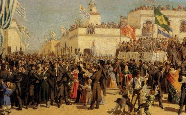 Jura de la Constitución de 1830 en Uruguay