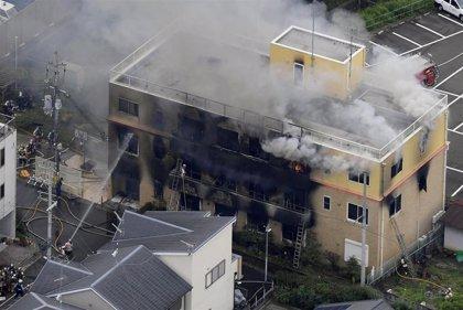Al menos 33 muertos en un incendio provocado en un estudio anime de Kioto