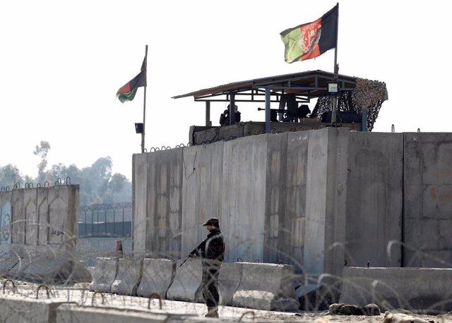 Imagen de archivo de un cuartel del Ejército afgano