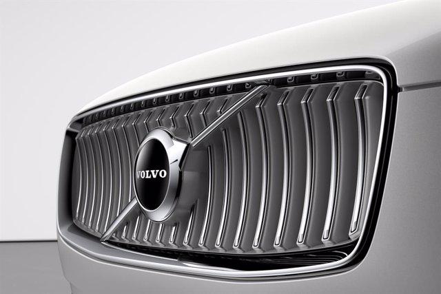 Logotipo de Volvo Cars en un vehículo