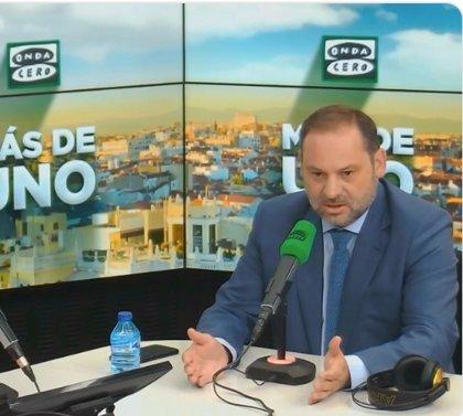 """Ábalos ve una """"desesperación"""" la investidura apoyada por partidos independentistas y abstención de Podemos"""