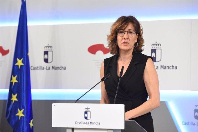 La portavoz del Ejecutivo regional, Blanca Fernández.
