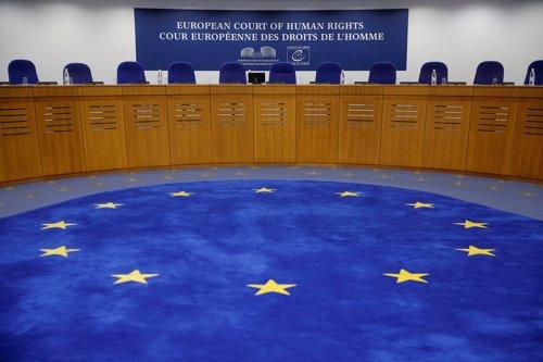 Sala del Tribunal Europeo de Derechos Humanos (TEDH) en Estrasburgo (Francia) en una foto de archivo